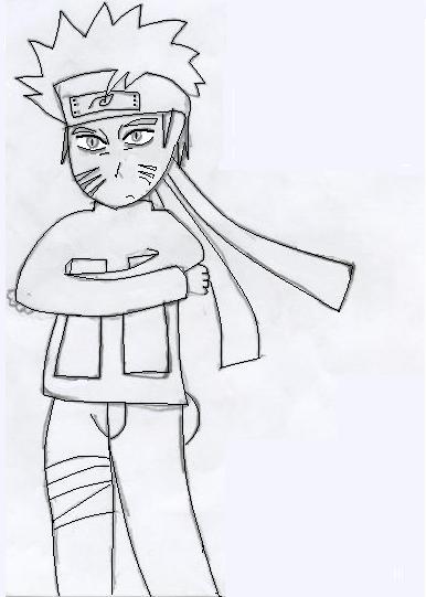 naruto kyubi sketch