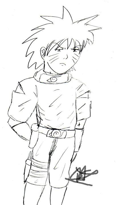 Naruto Bored