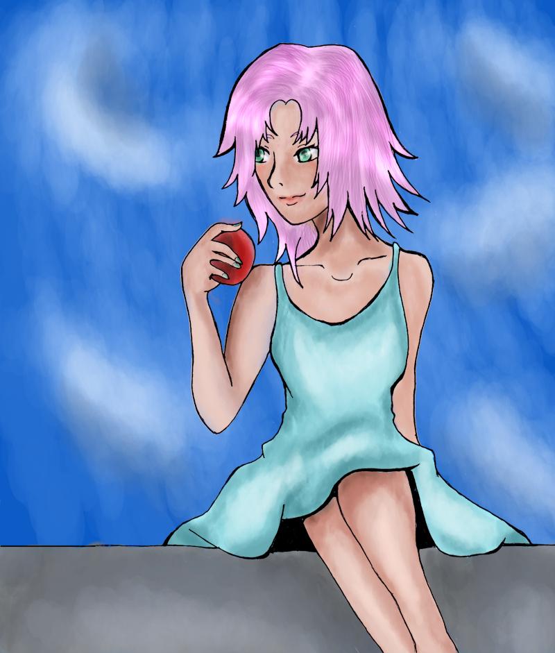 I draw too much Sakura..