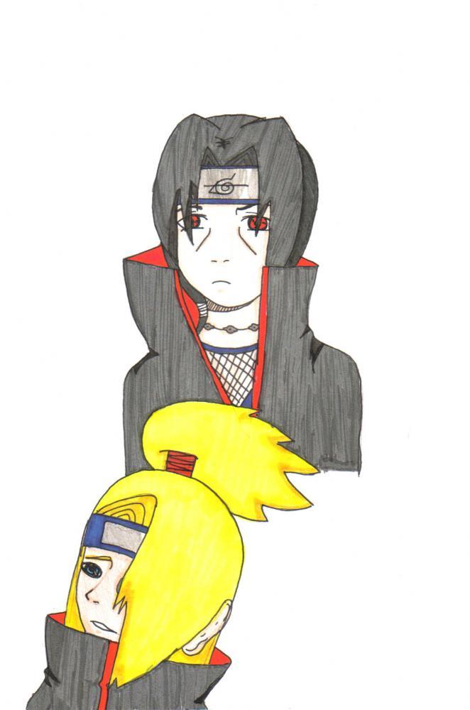 Itachi and Dei-kun~