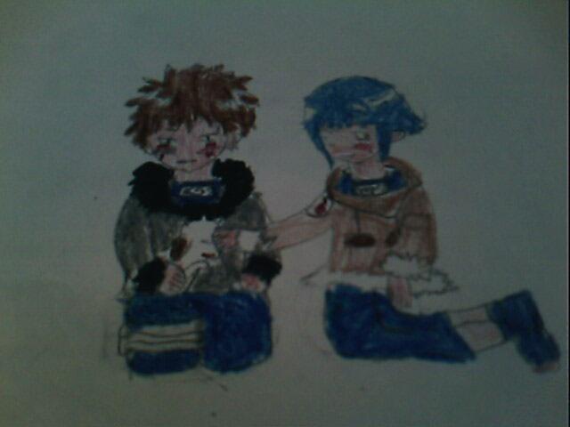 Hinata and kiba!
