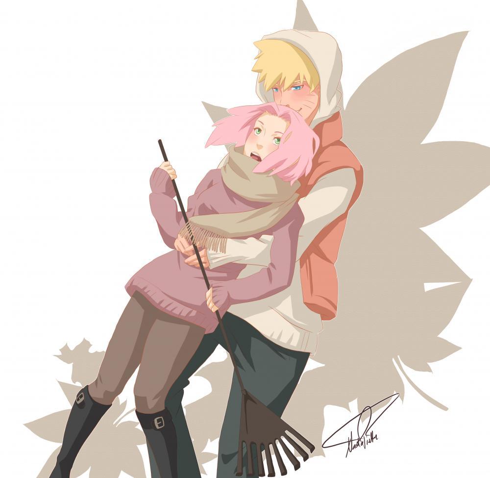 NaruSaku - Autumn Embrace