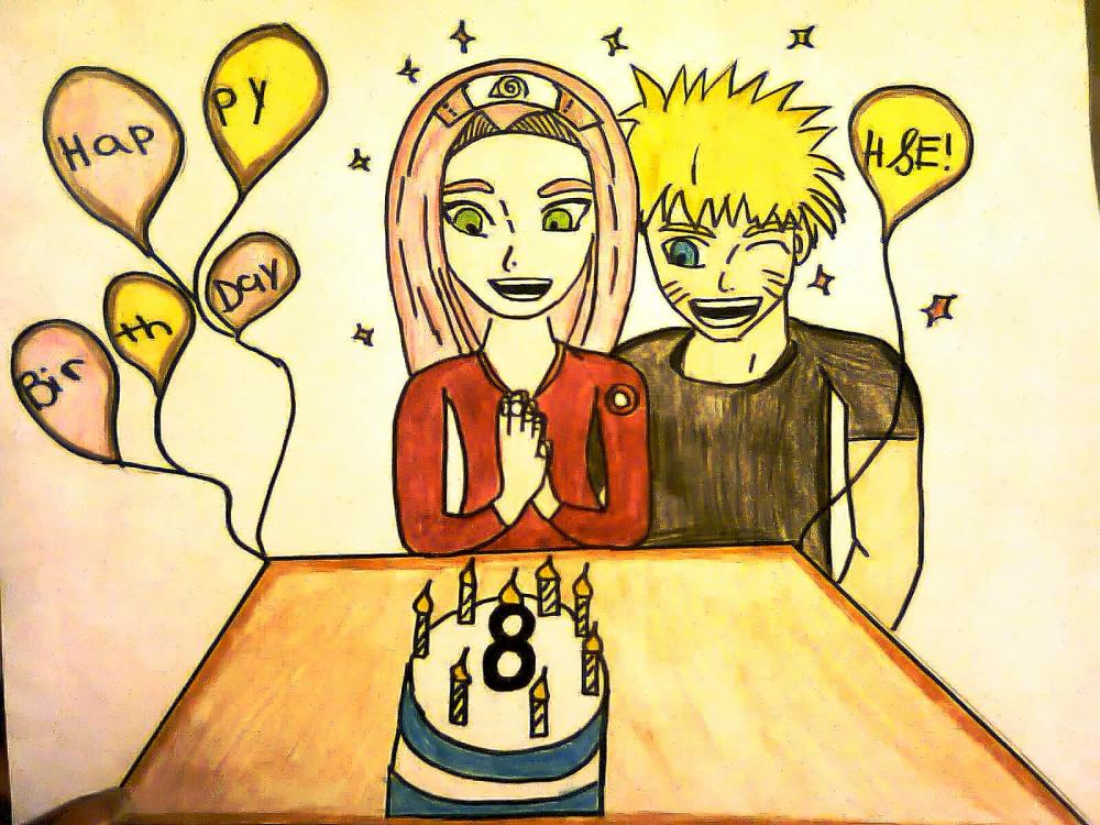 Narusaku Birthday~