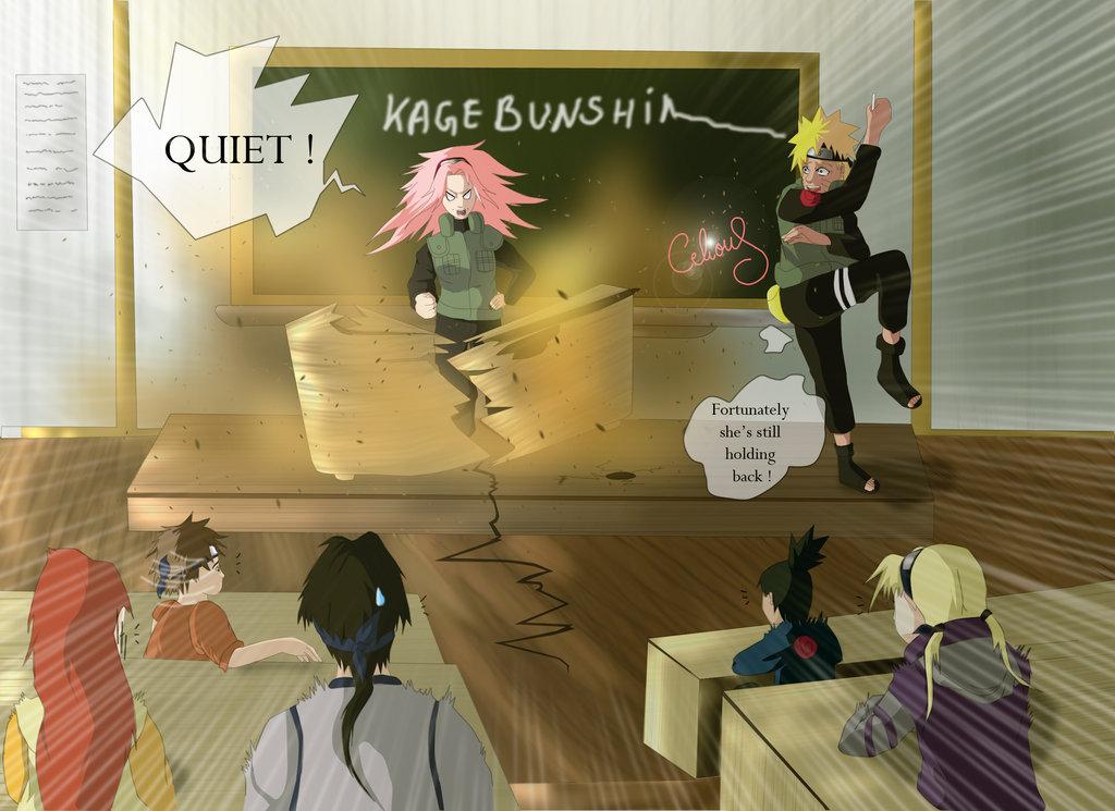 Sakura teaching