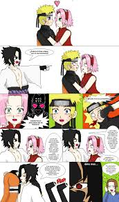 NaruSaku , NaruSasu moments