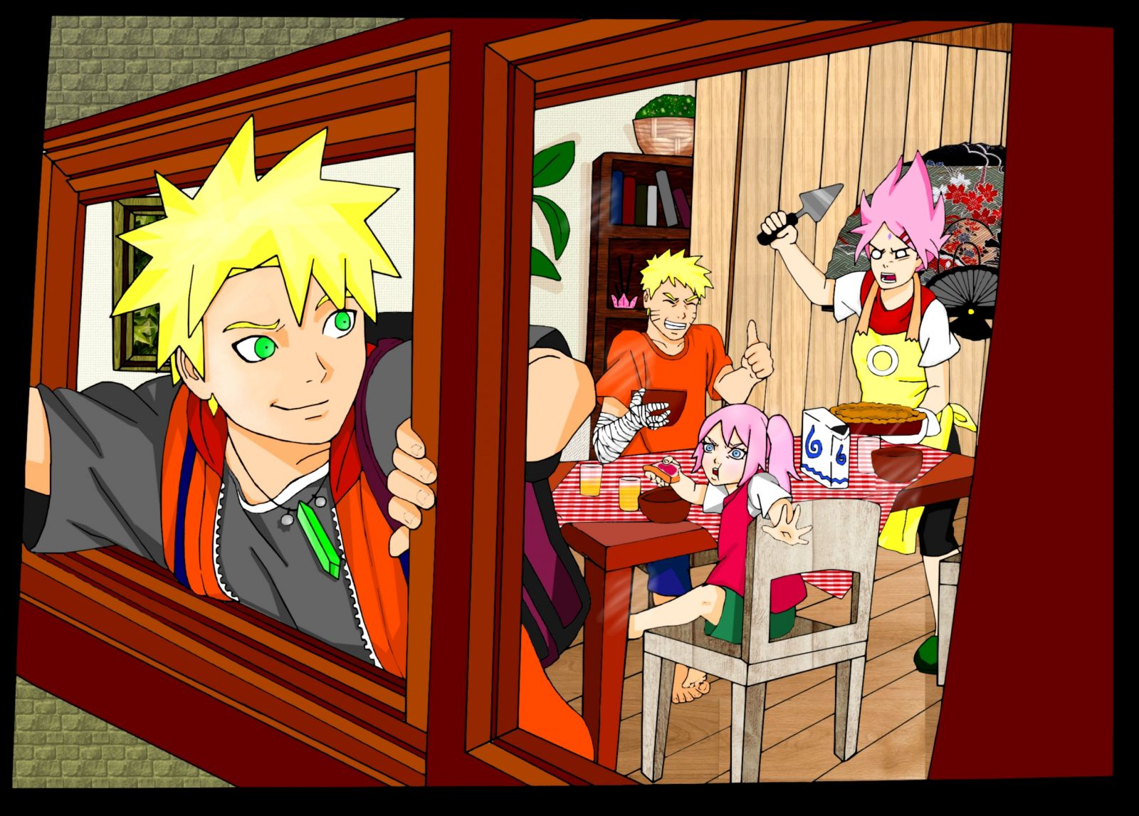 The New Uzumaki Breakfast!!