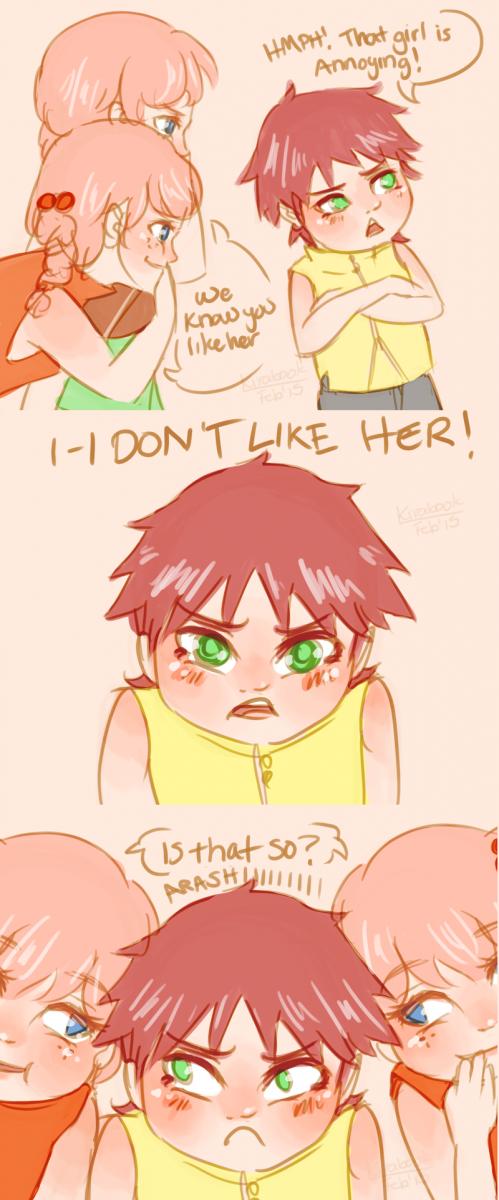 Teasing Arashi