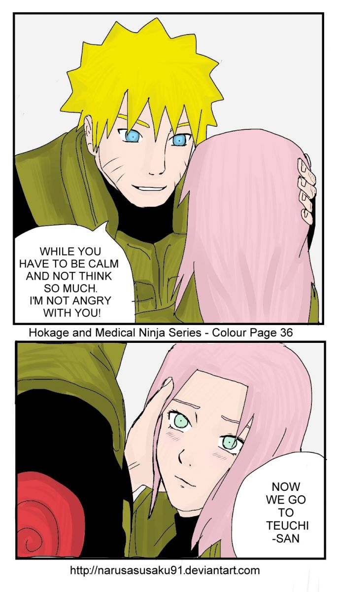 "NaruSaku "" I'm Not angry with you"""