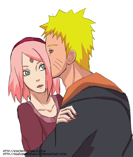 You are affectionate, Naruto!