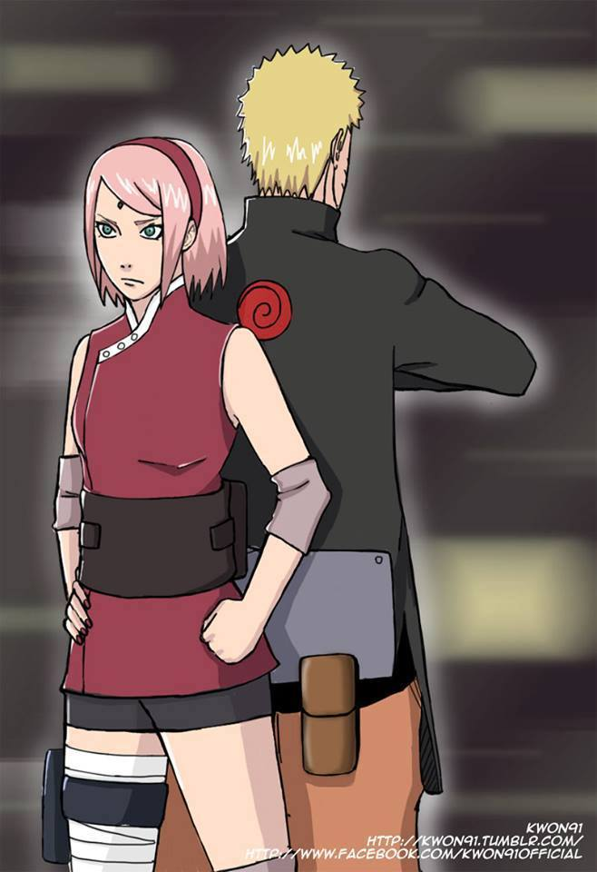 "NaruSaku ""Never Give up"""