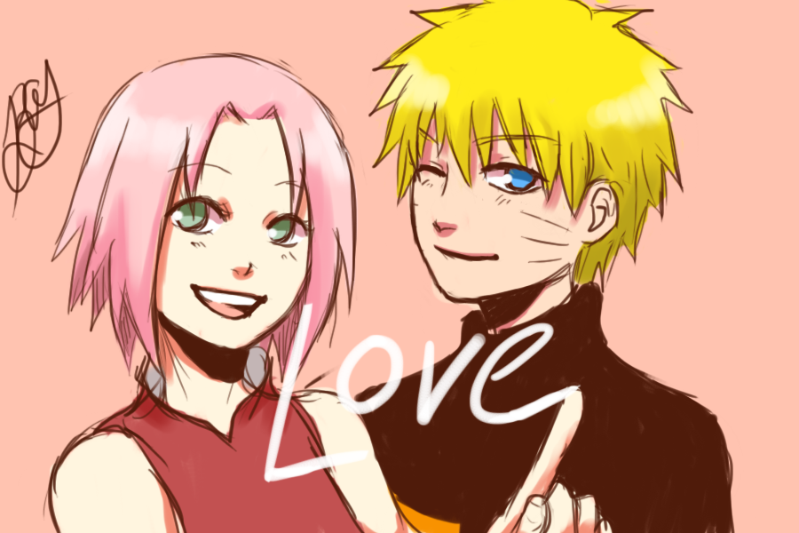 A quick narusaku sketch
