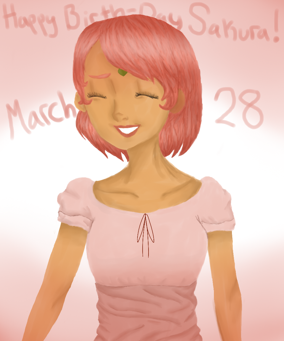 Happy Birthday Sakura!