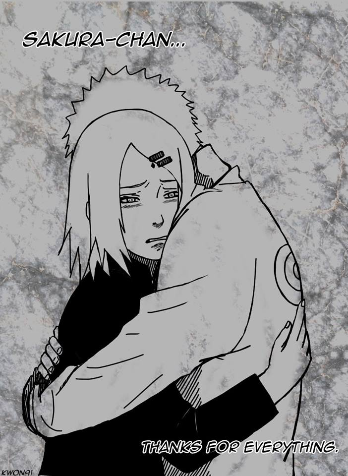 Thank you for everything! Naruto!