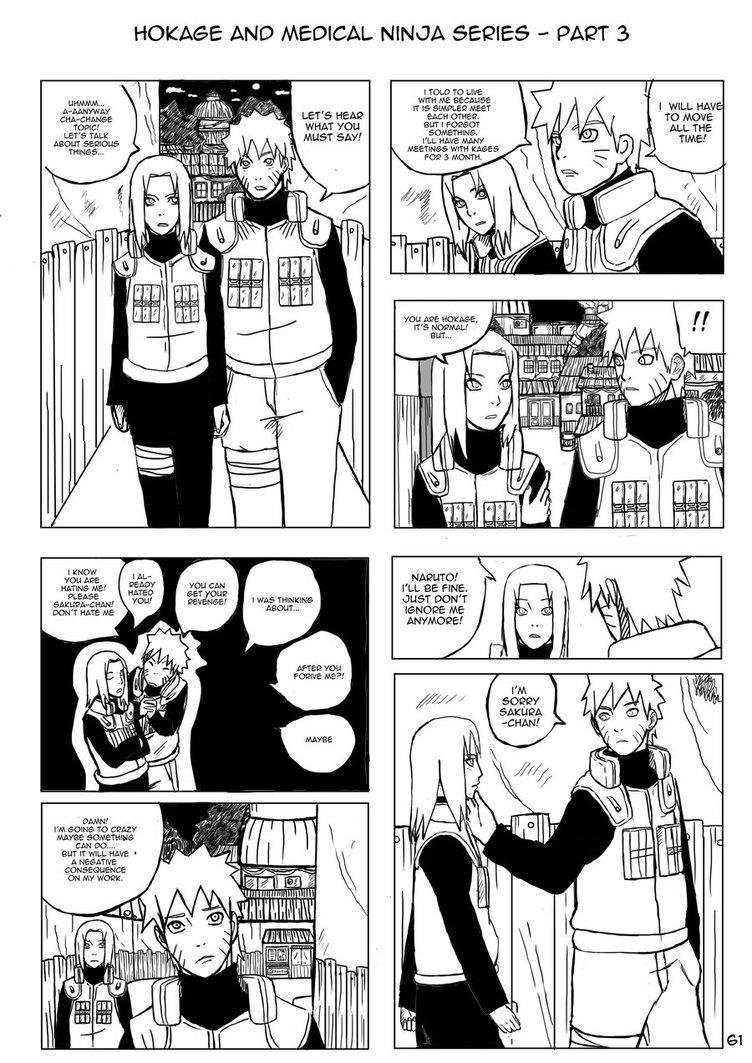 NaruSaku - Hokage and Medical Ninja Series Part  61